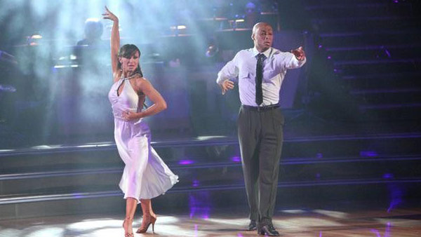 "<div class=""meta ""><span class=""caption-text "">'All My Children' actor and Iraq War veteran J.R. Martinez and his partner Karina  Smirnoff received 26 out of 30 from the judges for their Rumba on the October 3 episode  'Dancing With The Stars.' (ABC Photo)</span></div>"