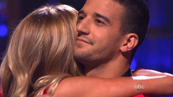 "<div class=""meta ""><span class=""caption-text "">Reality Star Kristin Cavallari and her partner Mark Ballas react to being eliminated on 'Dancing With The Stars: The Results Show' on Tuesday, October 4, 2011. The pair received 24 out of 30 from the judges for their Samba on the October 3 episode of 'Dancing With The Stars.' (ABC Photo)</span></div>"