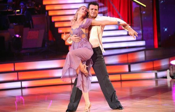 Singer Chynna Phillips and her partner Tony Dovolani received 26 out of 30 from the judges for their Rumba on the October 3 episode 'Dancing With The Stars.'