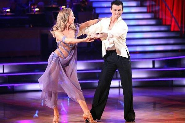 Singer Chynna Phillips and her partner Tony Dovolani received 26 out of 30 from the  judges for their Rumba on the October 3 episode &#39;Dancing With The Stars.&#39; <span class=meta>(ABC Photo)</span>