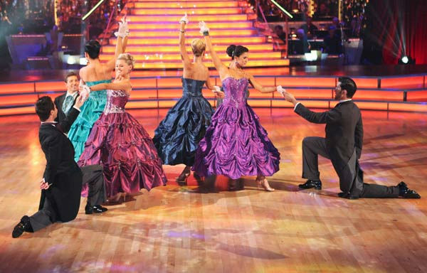 The 'Dancing With the Stars' Troupe did a special performance themed to 'Gone with the Wind,' as a preview to next week's Movie Scores theme on 'Dancing With The Stars: The Result Show' on Tuesday, October 4, 2011.