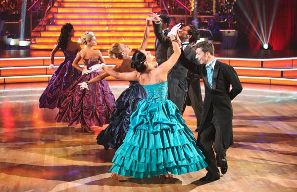 The 'Dancing With the Stars' Troupe did a...