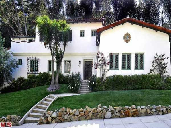 Frances Bean Cobain's 3,350 square foot home, which the only child of Courtney Love and the late Kurt Cobain purchased for $1,825,000 in July, 2011. The property, which was built in 1930 by architect Carl Jules Weyl, has 4-bedrooms and 3.5 bathrooms.
