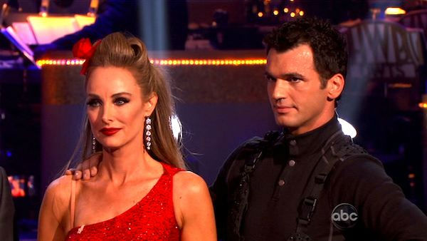 Singer Chynna Phillips and her partner Tony Dovolani received 21 out of 30 from the judges for their Tango on the October 3 episode 'Dancing With The Stars.'
