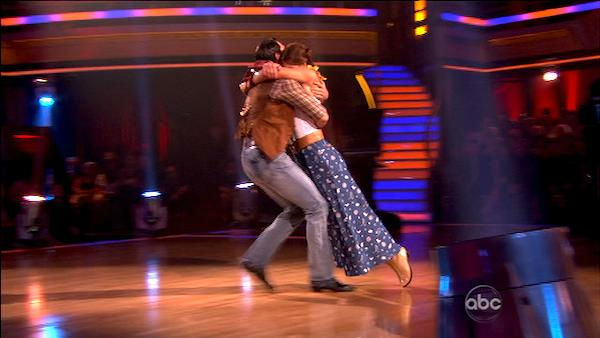 "<div class=""meta ""><span class=""caption-text "">U.S. soccer star Hope Solo and her partner Maksim Chmerkovskiy received 24 out of 30 from the judges for their Fox Trot on the October 3 episode of 'Dancing With The Stars.' (Photo/ABC)</span></div>"