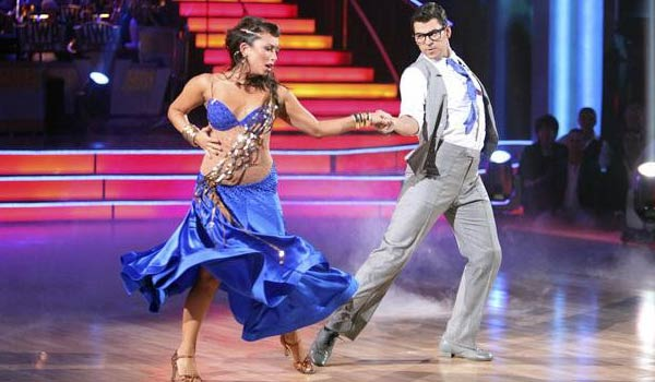 &#39;Keeping Up With The Kardashians&#39; star Rob Kardashian and his partner Cheryl Burke received 24 out of 30 from the judges for their Paso Doble on the October 3 episode of &#39;Dancing With The Stars.&#39; <span class=meta>(Photo&#47;ABC)</span>