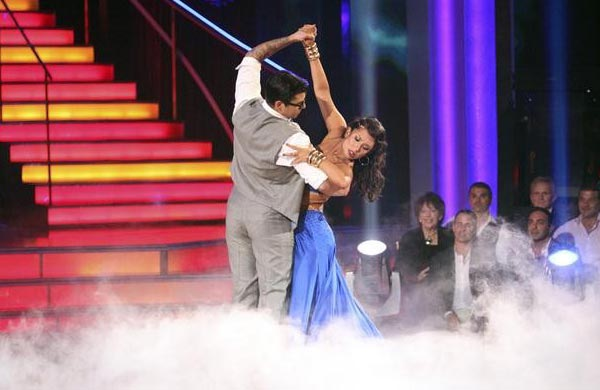 "<div class=""meta ""><span class=""caption-text "">'Keeping Up With The Kardashians' star Rob Kardashian and his partner Cheryl Burke received 24 out of 30 from the judges for their Paso Doble on the October 3 episode of 'Dancing With The Stars.' (Photo/ABC)</span></div>"