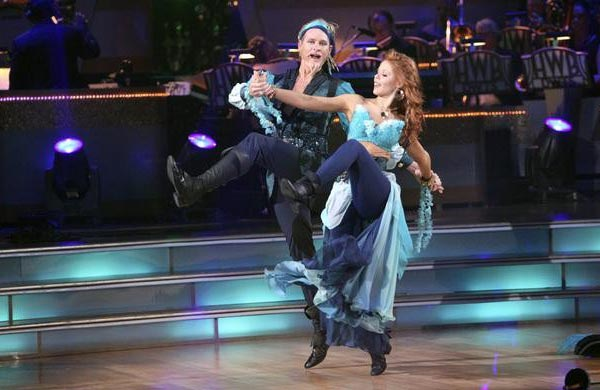 "<div class=""meta ""><span class=""caption-text "">Television personality Carson Kressley and his partner Anna Trebunskaya received 20 out of 30 from the judges for their Viennese Waltz on the October 3 episode of 'Dancing With The Stars.' (Photo/ABC)</span></div>"