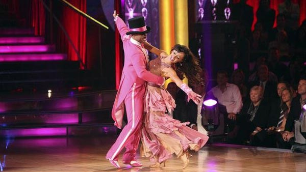 "<div class=""meta ""><span class=""caption-text "">'All My Children' actor and Iraq War veteran J.R. Martinez and his partner Karina Smirnoff received 26 out of 30 from the judges for their Paso Doble on the October 3 episode 'Dancing With The Stars.' (Photo/ABC)</span></div>"