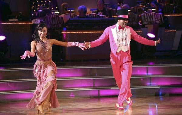 &#39;All My Children&#39; actor and Iraq War veteran J.R. Martinez and his partner Karina Smirnoff received 26 out of 30 from the judges for their Paso Doble on the October 3 episode &#39;Dancing With The Stars.&#39; <span class=meta>(Photo&#47;ABC)</span>