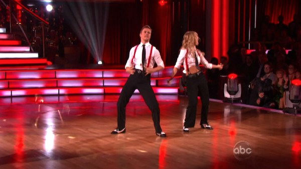 "<div class=""meta image-caption""><div class=""origin-logo origin-image ""><span></span></div><span class=""caption-text"">'Dancing With the Stars' two-time champion Julianne Hough hit dance floor with her brother and 'Dancing With the Stars' three-time champion Derek Hough on 'Dancing With The Stars: The Result Show' on Tuesday, October 11, 2011. (Photo/ABC Photo)</span></div>"