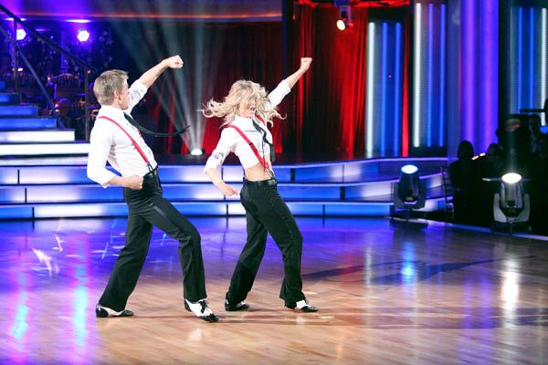 "<div class=""meta image-caption""><div class=""origin-logo origin-image ""><span></span></div><span class=""caption-text"">'Dancing With the Stars' two-time champion Julianne Hough hit dance floor with her brother and 'Dancing With the Stars' three-time champion Derek Hough on 'Dancing With The Stars: The Result Show' on Tuesday, October 11, 2011. (ABC Photo/ Adam Taylor)</span></div>"