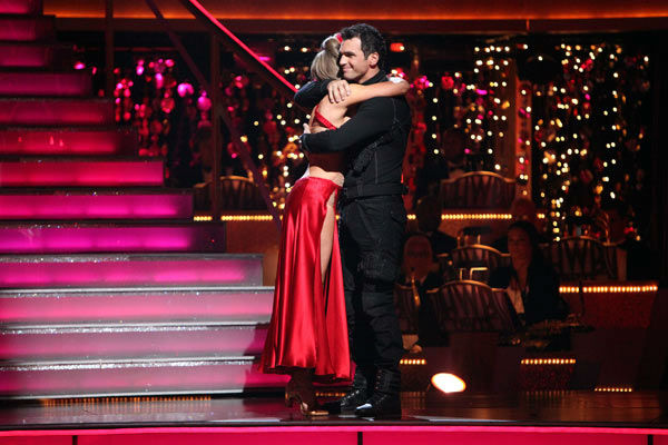 "<div class=""meta ""><span class=""caption-text "">Singer Chynna Phillips and her partner Tony Dovolani react to being eliminated on 'Dancing With The Stars: The Result Show' on Tuesday, October 11, 2011. The pair received 21 out of 30 from the judges for their Tango on the October 10 episode 'Dancing With The Stars.' (ABC Photo/ Adam Taylor)</span></div>"