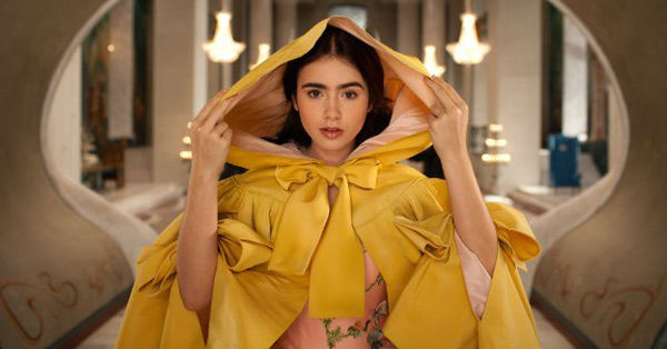Lily Collins appears in a scene from 'Mirror...