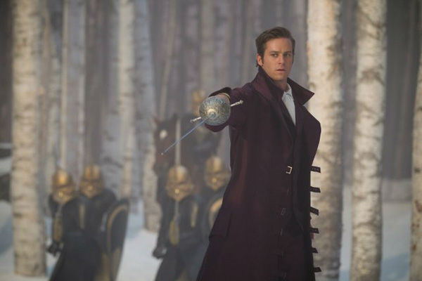 Armie Hammer appears in a scene from &#39;Mirror, Mirror,&#39; which is slated for release on March 16, 2012. <span class=meta>(Relativity Media &#47; Snow White Productions &#47; Jan Thijs)</span>