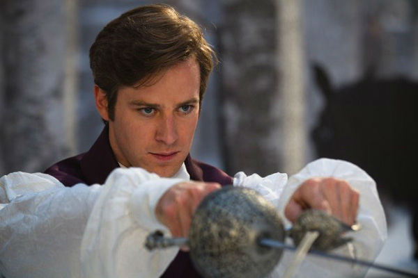 Armie Hammer appears in a scene from 'Mirror,...