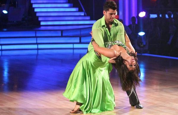 "<div class=""meta image-caption""><div class=""origin-logo origin-image ""><span></span></div><span class=""caption-text"">'Keeping Up With The Kardashians' star Rob Kardashian and his partner Cheryl Burke received 25 out of  30 from the judges for their Rumba on the October 17 episode of 'Dancing With The Stars.' (ABC Photo)</span></div>"