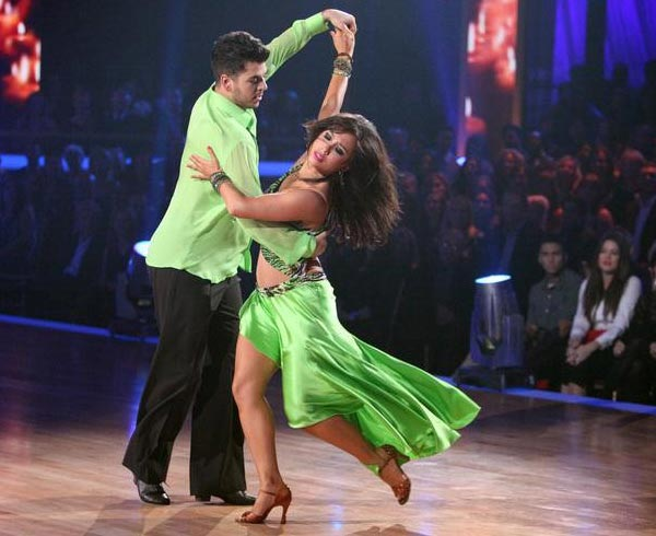 "<div class=""meta ""><span class=""caption-text "">'Keeping Up With The Kardashians' star Rob Kardashian and his partner Cheryl Burke received 25 out of  30 from the judges for their Rumba on the October 17 episode of 'Dancing With The Stars.' (ABC Photo)</span></div>"
