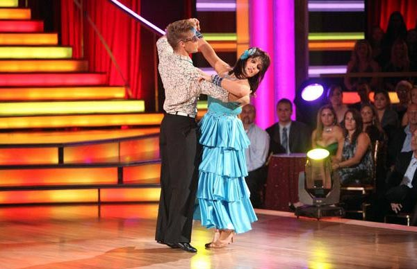 Talk show host and actress Ricki Lake and her partner Derek Hough received 24 out of 30 from the judges  for their Fox Trot on the October 17 episode of &#39;Dancing With The Stars.&#39; <span class=meta>(ABC Photo)</span>