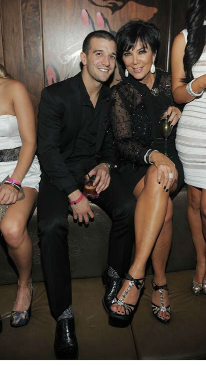 "<div class=""meta ""><span class=""caption-text "">Mark Ballas and Kris Jenner celebrate Kim Kardashian's birthday at Marquee Nightclub at the Cosmopolitan in CityCenter on October 22, 2011 in Las Vegas, Nevada.  (Photo/Denise Truscello)</span></div>"