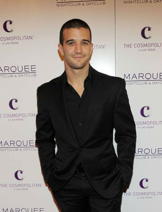 Mark Ballas arrives at Kim Kardashian's birthday Party at Marquee Nightclub at the Cosmopo