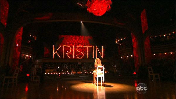Kristin Chenoweth performs 'Maybe This Time'...