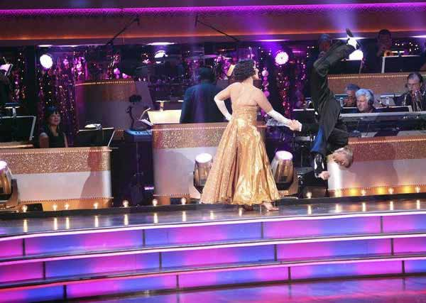Talk show host and actress Ricki Lake and her partner Derek Hough received 29 out of 30 from the judges  for their Quickstep on the October 24 episode of &#39;Dancing With The Stars.&#39; <span class=meta>(ABC Photo)</span>