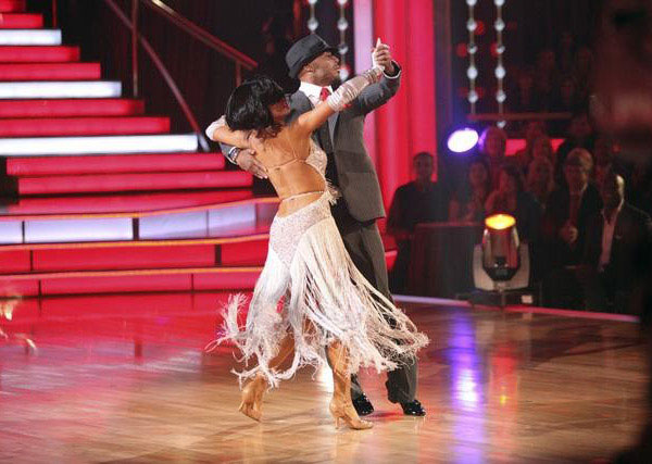 "<div class=""meta image-caption""><div class=""origin-logo origin-image ""><span></span></div><span class=""caption-text"">'All My Children' actor and Iraq War veteran J.R. Martinez and his partner Karina Smirnoff received 29 out  of 30 from the judges for their Quickstep on the October 24 episode 'Dancing With The Stars.' (ABC Photo)</span></div>"