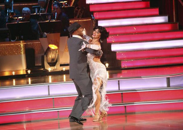 &#39;All My Children&#39; actor and Iraq War veteran J.R. Martinez and his partner Karina Smirnoff received 29 out  of 30 from the judges for their Quickstep on the October 24 episode &#39;Dancing With The Stars.&#39; <span class=meta>(ABC Photo)</span>