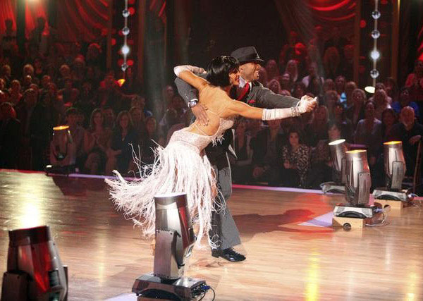 "<div class=""meta ""><span class=""caption-text "">'All My Children' actor and Iraq War veteran J.R. Martinez and his partner Karina Smirnoff received 29 out  of 30 from the judges for their Quickstep on the October 24 episode 'Dancing With The Stars.' (ABC Photo)</span></div>"