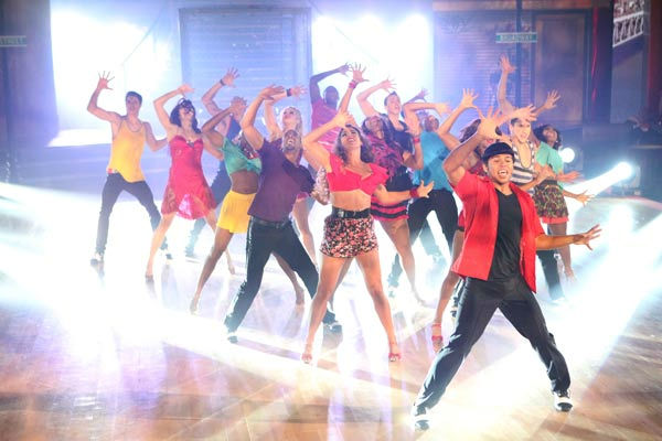 "<div class=""meta ""><span class=""caption-text "">The 'Macy's Stars of Dance' featured on 'Dancing With The Stars: The Results Show' on Tuesday, October 25, was a tribute to three Broadway shows. It included choreography by Emmy Award-winning choreographer Kenny Ortega and starred 'High School Musical' actor Corbin Bleu. (ABC Photo/ Adam Taylor)</span></div>"