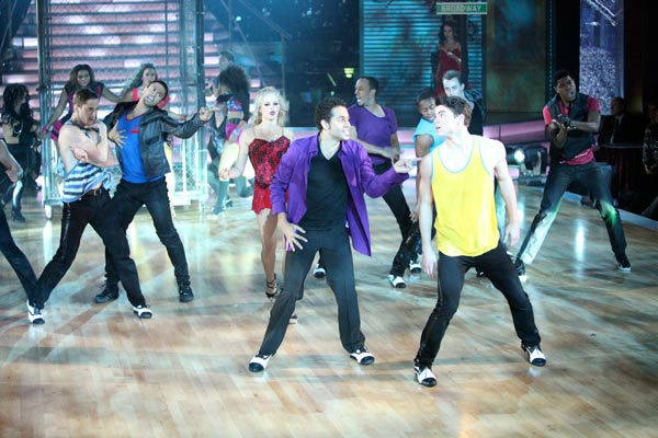 The &#39;Macy&#39;s Stars of Dance&#39; featured on &#39;Dancing With The Stars: The Results Show&#39; on Tuesday, October 25, was a tribute to three Broadway shows. It included choreography by Emmy Award-winning choreographer Kenny Ortega and starred &#39;High School Musical&#39; actor Corbin Bleu. <span class=meta>(ABC Photo&#47; Adam Taylor)</span>