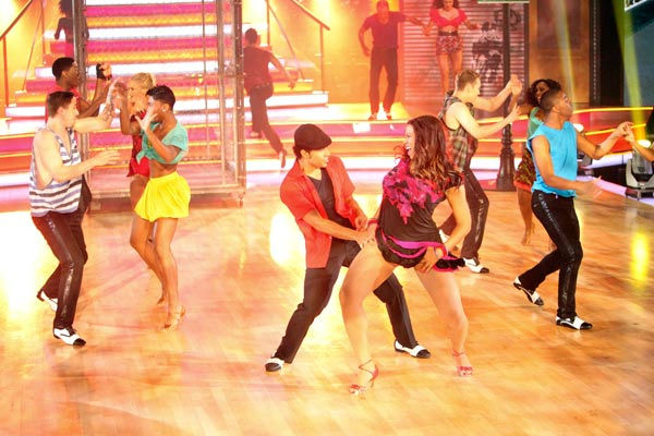 The 'Macy's Stars of Dance' featured on 'Dancing...