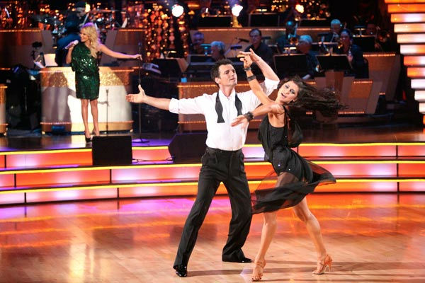Kristin Chenoweth returned to the 'Dancing With...