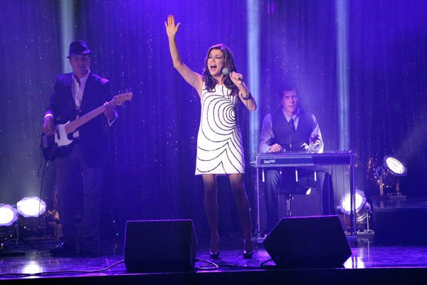 "<div class=""meta ""><span class=""caption-text "">Country music entertainer Martina McBride performed 'I'm Gonna Love You Through It,' the single from her new album, 'Eleven' on 'Dancing With The Stars: The Results Show' on Tuesday, October 25. McBride was accompanied by pro dancers Chelsie Hightower and Val Chmerkovskiy.  (ABC Photo/ Adam Taylor)</span></div>"