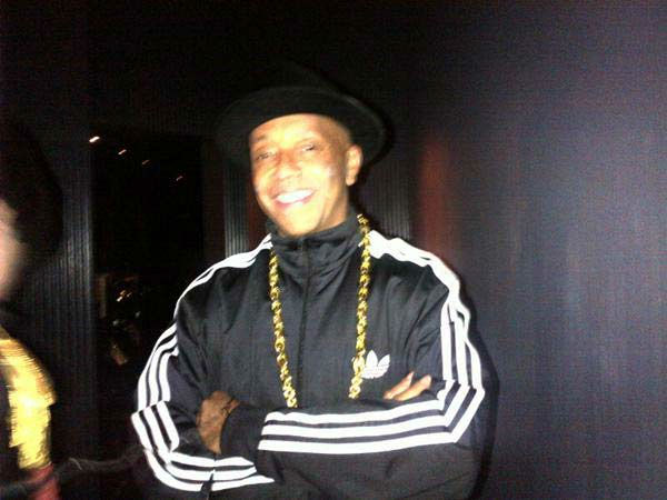'My Holloween costume. Guess what it is,' Russell Simmons, brother of Reverend Run of Run DMC fame, <a href