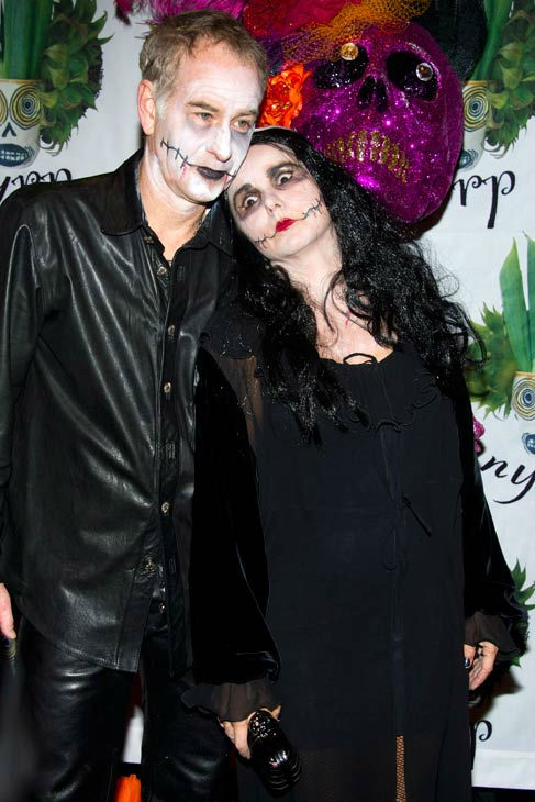 John McEnroe and Patty Smyth attend Bette Midler's Hulaween gala