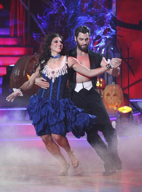 U.S. soccer star Hope Solo and her partner Maksim Chmerkovskiy received 24 out of 30 from the judges for their Samba on the October 31 episode of &#39;Dancing With The Stars.&#39; <span class=meta>(ABC Photo)</span>