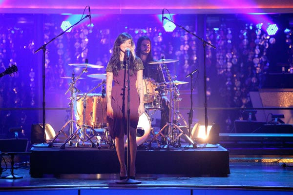 Recording artist Christina Perri sings her smash...