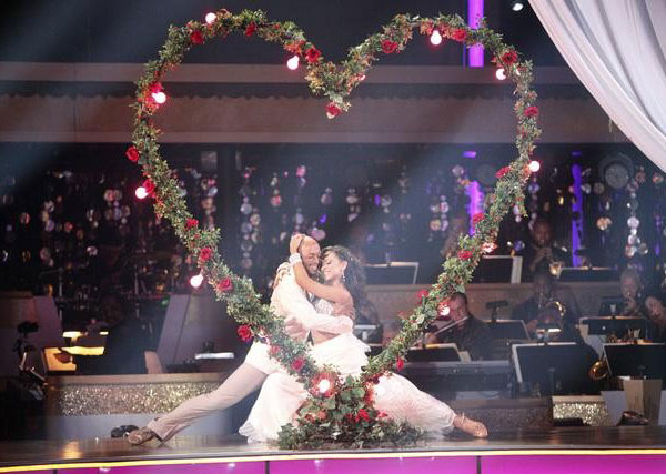 "<div class=""meta ""><span class=""caption-text "">'All My Children' actor and Iraq War veteran J.R. Martinez and his partner Karina Smirnoff received 30 out of 30 from the judges for their Waltz and 30 out of 30 for their Instant Jive, for a total of 60 on the November 7 episode of 'Dancing With The Stars.' (ABC)</span></div>"