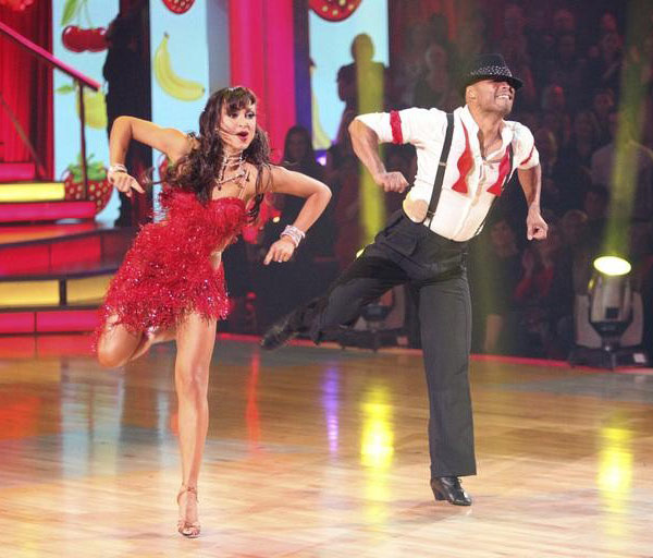 "<div class=""meta image-caption""><div class=""origin-logo origin-image ""><span></span></div><span class=""caption-text"">'All My Children' actor and Iraq War veteran J.R. Martinez and his partner Karina Smirnoff received 30 out of 30 from the judges for their Waltz and 30 out of 30 for their Instant Jive, for a total of 60 on the November 7 episode of 'Dancing With The Stars.' (ABC)</span></div>"