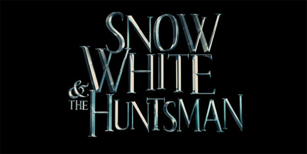 The title sequence for 'Snow White and the...