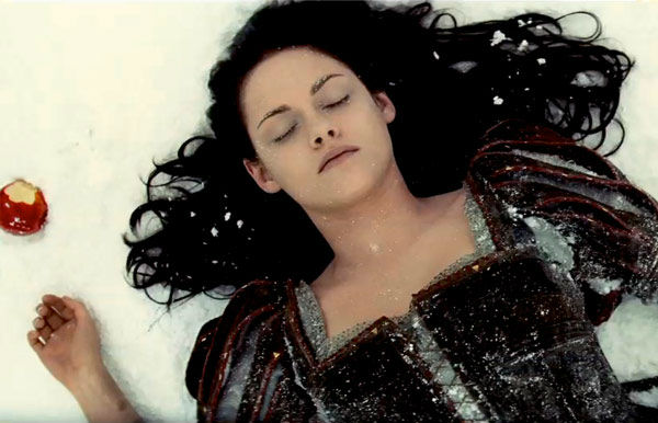 Kristen Stewart appears in a still from 'Snow...