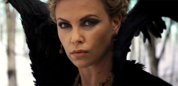 Charlize Theron appears in a still from 'Snow...