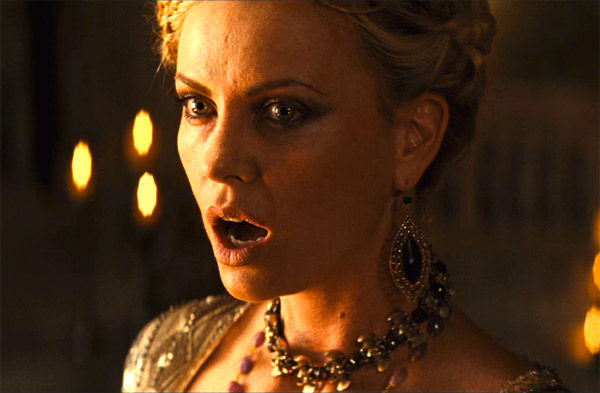 Charlize Theron appears in a still from 'Snow White and the Huntsman,' which is slated for release on June 1, 2012.