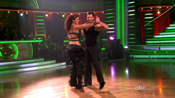 U.S. soccer star Hope Solo and her partner Maksim Chmerkovskiy received 21 out of 30 from the judges for  their Paso Doble and 24 out of 30 for their Argentine Tango and 4 bonus points for their Cha Cha relay for a total of 49 points on the November 14 episode of &#39;Dancing With The Stars.&#39; <span class=meta>(ABC Photo&#47; ABC)</span>