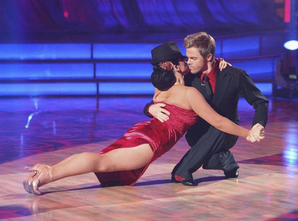 "<div class=""meta ""><span class=""caption-text "">Talk show host and actress Ricki Lake and her partner Derek Hough received received 30 out of 30 from  the judges for their Paso Doble and 29 out of 30 for their Argentine Tango and 8 bonus points for their Cha Cha relay for a total of 67 points on the November 14 episode of 'Dancing With The Stars.' (ABC Photo/ ABC)</span></div>"