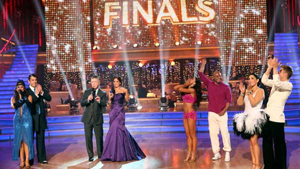 Talk show host and actress Ricki Lake, 'All My Children' actor and Iraq War veteran J.R. Martinez, and television personality Rob Kardashian are the three finalists who danced it out in the hopes of winning the coveted mirror ball trophy on November 22.