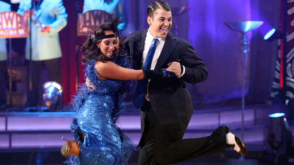 &#39;Keeping Up With The Kardashians&#39; star Rob Kardashian and his partner Cheryl Burke received 27 out of 30 from the judges for their Waltz and 30 out of 30 for their Freestyle dance for a total of 57 points out of 60 on the November 21 episode of &#39;Dancing With The Stars.&#39; <span class=meta>(ABC Photo)</span>