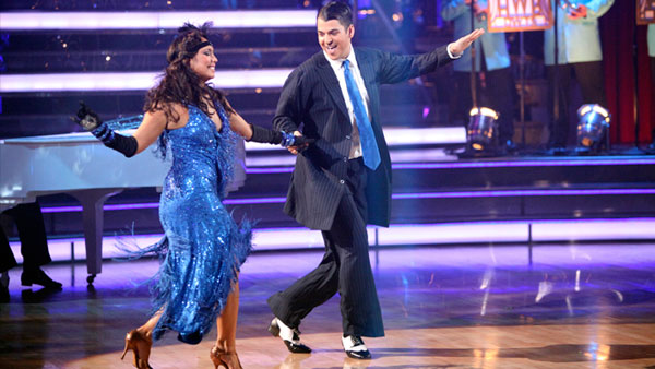 "<div class=""meta image-caption""><div class=""origin-logo origin-image ""><span></span></div><span class=""caption-text"">'Keeping Up With The Kardashians' star Rob Kardashian and his partner Cheryl Burke received 27 out of 30 from the judges for their Waltz and 30 out of 30 for their Freestyle dance for a total of 57 points out of 60 on the November 21 episode of 'Dancing With The Stars.' (ABC Photo)</span></div>"